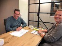 Vandaag het nieuwe dealercontract Fendt getekend!