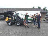 Eerste elektrische Giant shovel uitgeleverd