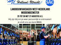 Landbouwvakdagen West-Nederland