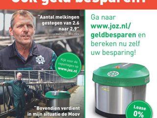 Advertentie geld besparen JOZ home of the clean stable