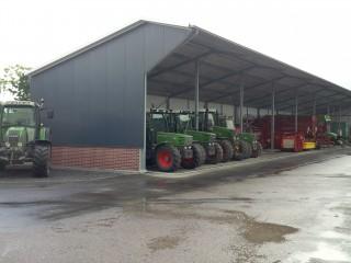Nieuwe loods bij Fendt dealer Holland-Utrecht